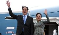 President Tran Dai Quang pays state visit to Japan