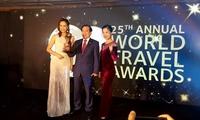 Vietnam wins at world travel awards
