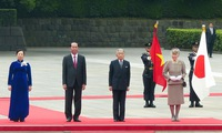 Japanese Emperor welcomes State President Trần Đại Quang