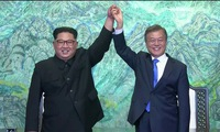 Residents express hope for the outcome of inter-Korea summit
