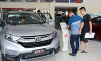 The first tax-free imported cars to be sold
