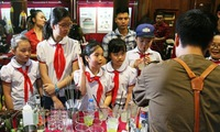 Summer activities for children at the Temple of Literature