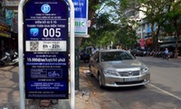 Hanoi to collect fees in iParking lots