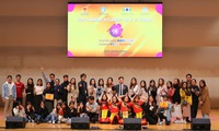 The Vietnamese student's festival held in South Korea