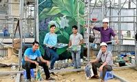 Mural paintings win International Design Award
