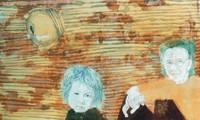 Artist portrays Vietnamese villages on poonah paper