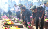 Remains of volunteer Vietnamese soldiers in Cambodia return home