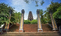 Thien Mu pagoda, one of the oldest, holiest sites in Hue