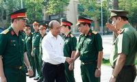 PM inspects maintenance of President Ho Chi Minh Mausoleum