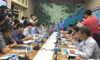 Meeting to prepare for Wipha storm
