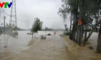 Binh Dinh affected by rains