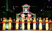 Nguyen Hue flower street opens