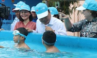 Children to be protected from natural disasters related to water