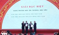 Vietnam Television won 10 awards at the National Press Festival 2019