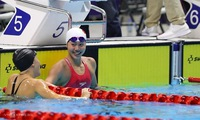 Swimmer Anh Vien wins fifth gold medal at SEA Games 2019