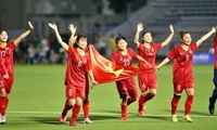 Vietnamese women's team close world's Top 30 after SEA Games triumph