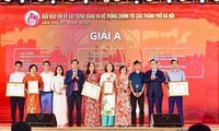 Hanoi honours winners of press awards on Party building and cultural development