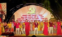 Art programme welcomes Ho Chi Minh City's 11th Party Congress