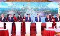 Work-starts on road linking Ring Road No.3 and Hanoi - Hai Phong expressway