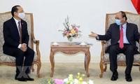 Prime Minister receives new Cambodian Ambassador