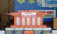 Book display and art programme mark Uncle Ho's birthday