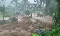 Tropical storm Higos brings flash floods to Northern Thailand