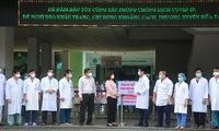 Medical blockade lifted from Da Nang's largest hospital