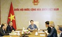 Top legislators of Vietnam, New Zealand hold online talks