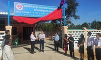Headquarters of Khmer-Vietnam Association in Cambodia's Koh Kong inaugurated