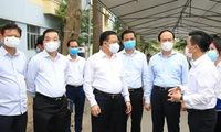 Hanoi raises the risk level in epidemic prevention and control scenario