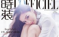 Angelababy yêu kiều, quyến rũ trên tạp chí L'Officiel