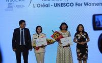 Trao giải thưởng Khoa học L'Oréal - UNESCO Vì sự phát triển phụ nữ trong khoa học