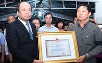 Truy tặng Huân chương Bảo vệ Tổ quốc hạng Nhất cho phi công L39 tử nạn