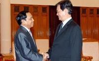 Thủ tướng tiếp Tổng Thanh tra Chính phủ Lào