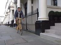 Xe đạp mạ vàng 24 carat đắt giá nhất hành tinh
