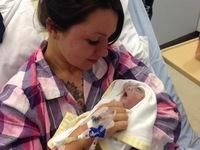 Em bé hiến tạng chỉ 100 phút sau khi chào đời