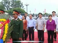 Chủ nhiệm Ủy ban Kiểm tra TƯ dâng hương tại Thành cổ Quảng Trị