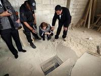 Khám phá đường hầm trùm ma túy Mexico trốn thoát