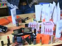 Bắt lượng lớn mỹ phẩm giả từ Lạng Sơn về Hà Nội tiêu thụ
