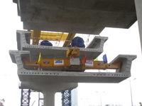 TP.HCM: Chính thức lắp đặt dầm cầu đầu tiên tuyến metro số 1