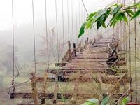 Kom Tum: Hơn 100 cây cầu treo bị xuống cấp