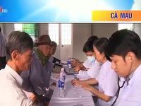 Cà Mau: Khám, phát thuốc miễn phí cho người nghèo
