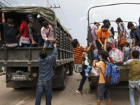 Thái Lan tăng hình phạt với người nhập cư trái phép