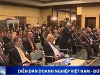 Diễn đàn doanh nghiệp Việt Nam - Đức thu hút 130 đơn vị tham gia
