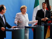 Đức, Pháp, Italy thúc giục Anh sớm rời EU