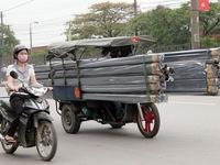 Vì sao xe chở hàng cồng kềnh tồn tại trong thời gian dài?