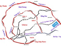 Dự kiến xây dựng đường vành đai 4 TP.HCM đoạn Bến Lức - Hiệp Phước