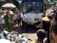 Hải Phòng: Ô tô mất phanh đâm 7 người bị thương