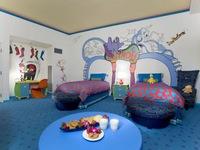 Phòng ngủ theo chủ đề bãi biển hút mắt trẻ thơ