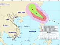 Siêu bão Meranti cấp 17 cách đảo Luzon, Philippines 260km